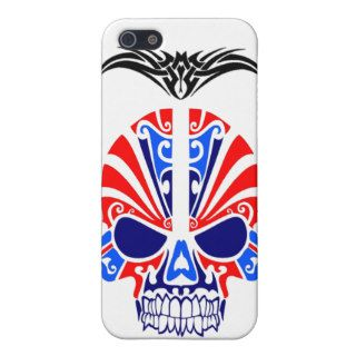 Skull Mask Tattoo iPhone 5 Cases