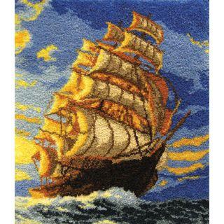 Latch Hook Kit  Clipper Ship MCG Textiles Latch Hook Kits