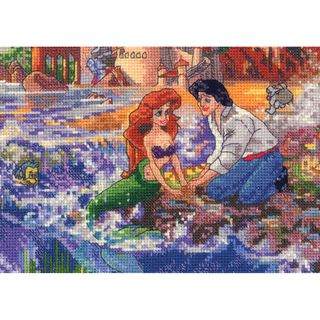 Disney Dreams Collection By Thomas Kinkade Little Mermaid MCG Textiles Latch Hook Kits