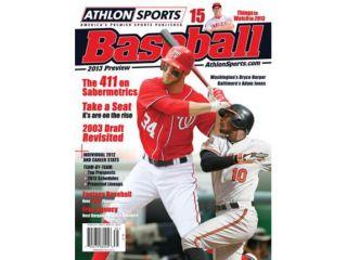 2013 Athlon Sports MLB Baseball Preview Magazine  Baltimore Orioles/Washington Nationals Cover