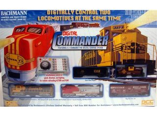 Bachmann HO Scale Train Set Digital Commander 00501