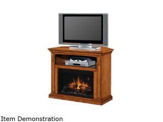 "ClassicFlame Fairmont Collection 40"" Wide Wall Corner Electric Fireplace (Antique Oak) 26DE1247 O103"