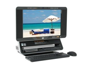 "HP TouchSmart Turion 64 X2 2GB DDR2 320GB HDD Capacity 19"" Touchscreen Desktop PC Windows Vista Home Premium IQ770 (RN635AA)"