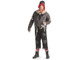 Gothic Male Rag Doll   Adult X Large Costume
