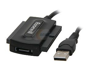 Rosewill RCW 608 USB2.0 Adapter For IDE/SATA Device (Include Protection case)