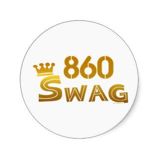 860 Connecticut Swag Sticker