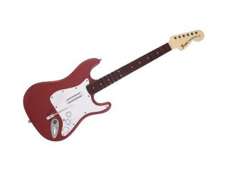 MadCatz PS3 Rock Band 3 Wireless Fender Stratocaster Guitar   Cherry
