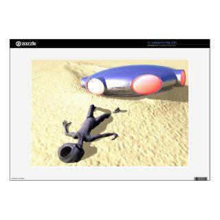 "Roswell Like UFO Crash Skin 15"" Laptop Skins"