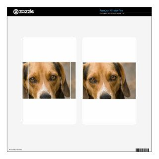 Loyal Beagle Hound Hunting Dog Kindle Fire Skin