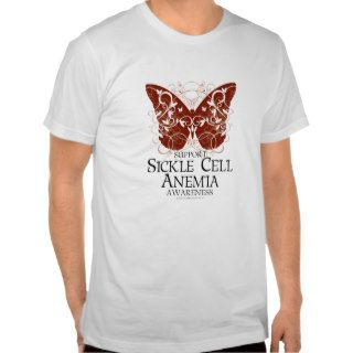 Sickle Cell Anemia Butterfly Tshirts