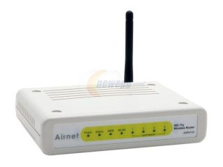 Airnet AWR014G 54Mbps Wireless Router IEEE 802.11b/g Wireless LAN
