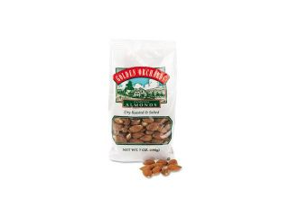 Paramount Farms Golden Orchards Almonds, Dry Roasted & Salted, 7 oz