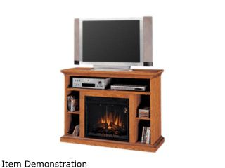 """ClassicFlame Beverly Collection 48"""" Wide Media Mantel Electric Fireplace (Premium Oak) 23MM374 O107"""