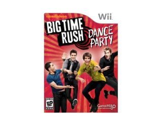 Big Time Rush Wii Game Game Mill