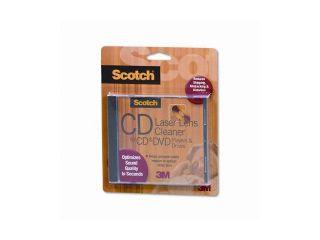 3M                                       Scotch CD/DVD Laser Lens Cleaner Cartridge