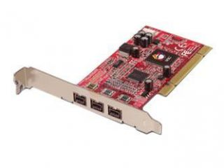 SIIG Model NN 830012 S2 PCI to 1394 Card  Add On Card