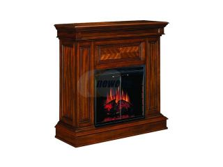 """Open Box: ClassicFlame Corinth 42"""" Wide Wall or Corner Electric Fireplace and TV Stand (Walnut) 23DM537 W502"""