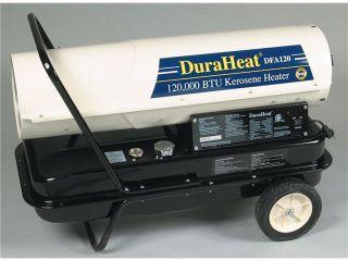 World Marketing DFA 125T 120,000 BTU Kerosene Forced Air Heater With Wheels & Handle Kit