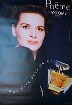 POEME PERFUME ADVERTISEMENT   1998 WITH JULIETTE BINOCHE (FRENCH