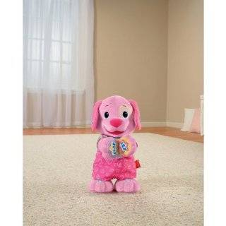 Fisher Price Laugh & Learn Love to Play Puppy   Pink Toys