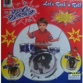 New Child Kid Toy Kids Big Band Drum Set Toy Drum Red