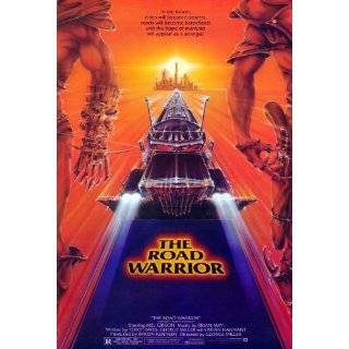 The Road Warrior Poster 27x40 Mel Gibson Bruce Spence Emil Minty