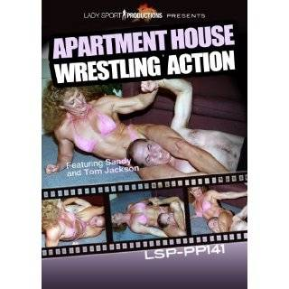 Womens Wrestling DVD   Apartment House Wrestling Action   LSP PP141